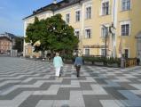 Hauptplatz vor der Basilika
