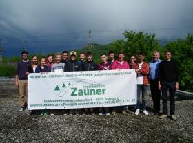 02/2019 Besuch der HTL-Hallein beim Ingenieurbüro Zauner-