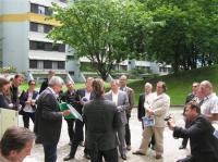 07/2011: Besuch französischer Baufachleute-