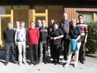 10/2011: Zertifizierungsveranstaltung Stufe 2-