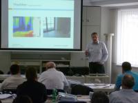 """03/2012: Fachseminar bei KNAUF: """"Dachgeschossausbau – Luftdichtheit DL"""" Inhaltsseite-"""